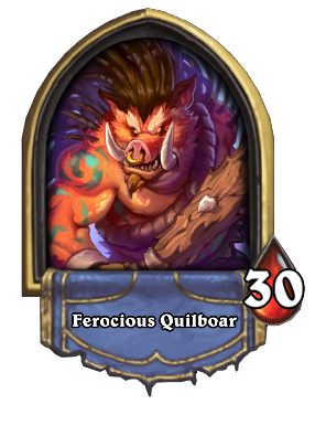 Ferocious Quilboar Card Image