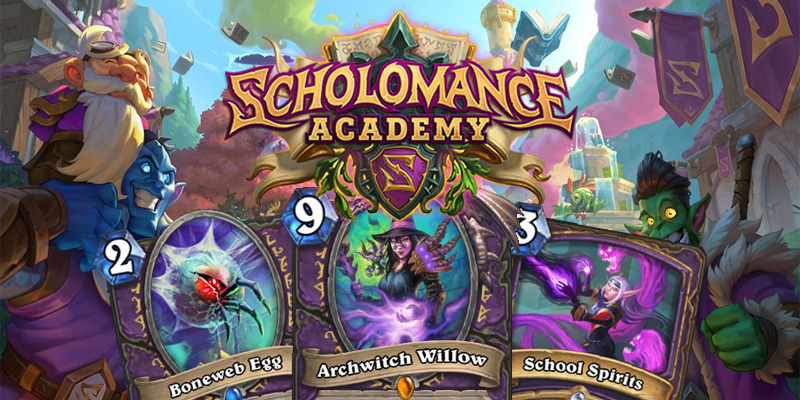 Our Thoughts on Hearthstone's Scholomance Academy Warlock Cards