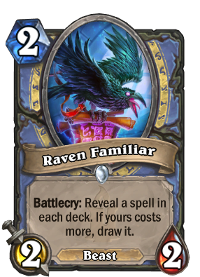Raven Familiar Card Image
