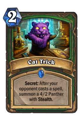 Cat Trick Card Image