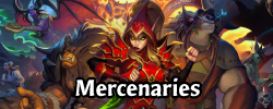 Hearthstone's Mercenaries