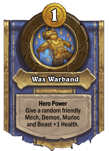 Wax Warband Card Image