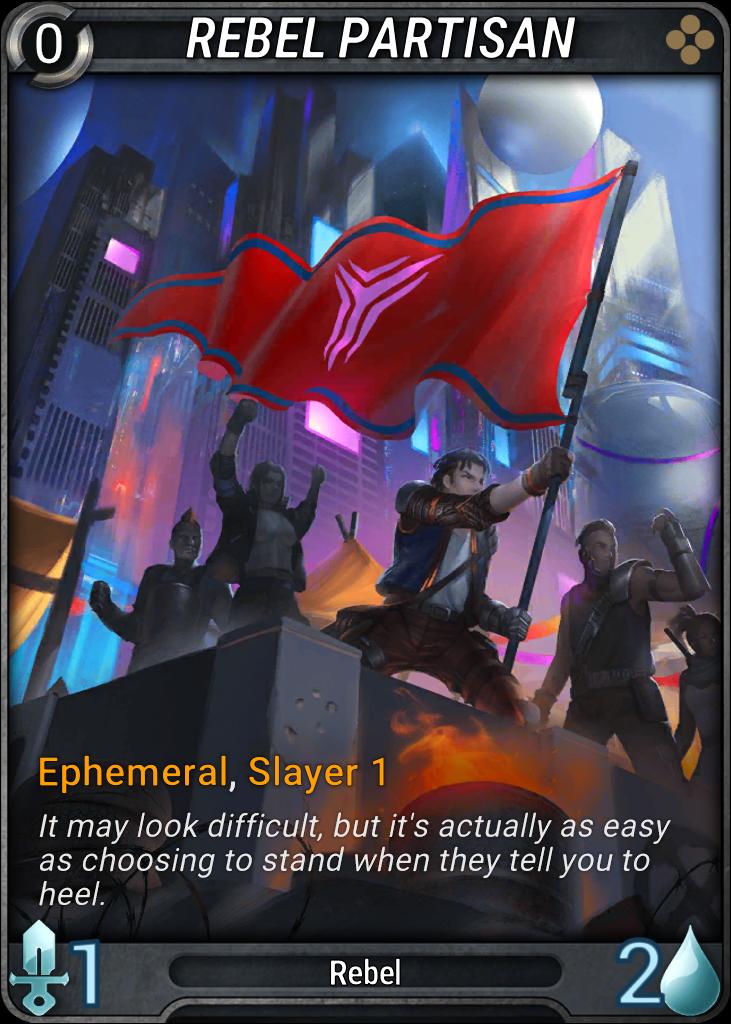 Rebel Partisan Card Image