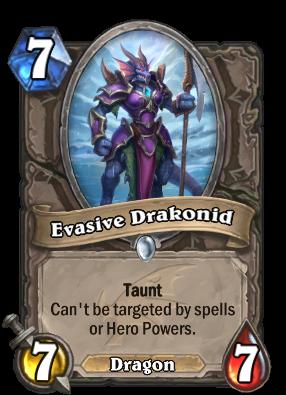 Evasive Drakonid Card Image