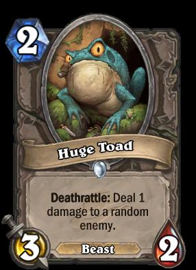Huge Toad Card Image