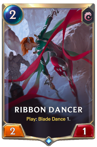 Ribbon Dancer Card Image