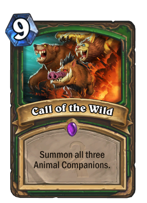 Call of the Wild Card Image