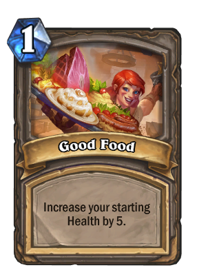 Good Food Card Image