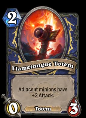 Flametongue Totem Card Image