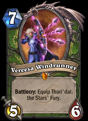 Vereesa Windrunner Card Image