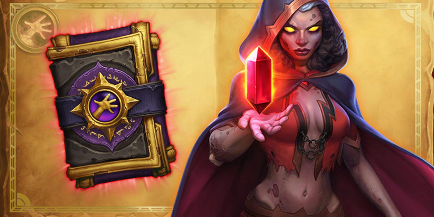 Hearthstone Book of Mercenaries Tamsin Roame is Now Live - Get a Free Warlock Card Pack