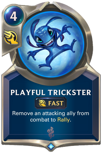 Playful Trickster Card Image
