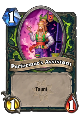 Performer's Assistant Card Image