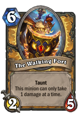 The Walking Fort Card Image