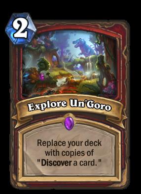 Explore Un'Goro Card Image