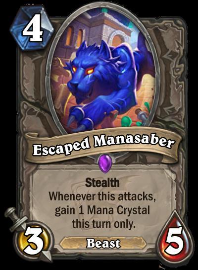 Escaped Manasaber Card Image