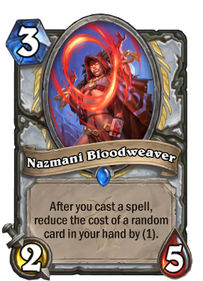 Nazmani Bloodweaver Card Image
