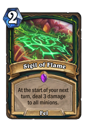 Sigil of Flame Card Image