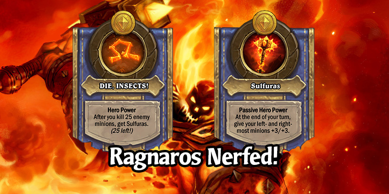 Large Battlegrounds Update Coming in Patch 18.4.2 - Ragnaros Nerfed!