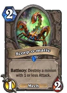 Scorp-o-matic Card Image