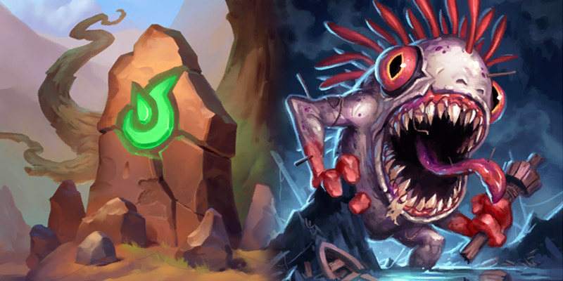 Check Out the Golden Animations for Hearthstone's Wailing Caverns Cards