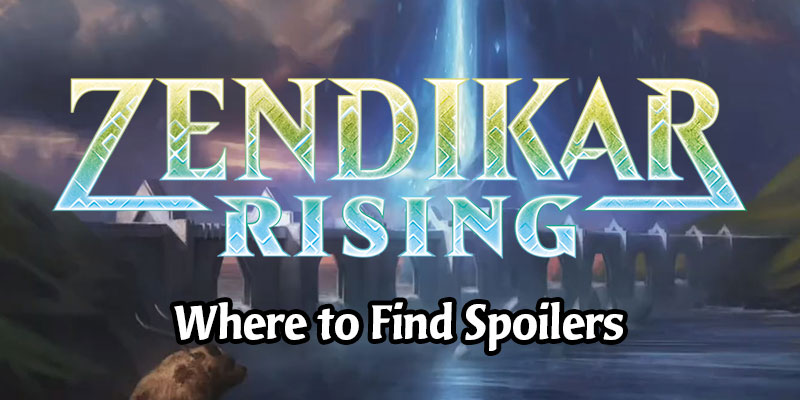Where to Find Zendikar Rising Set Spoilers