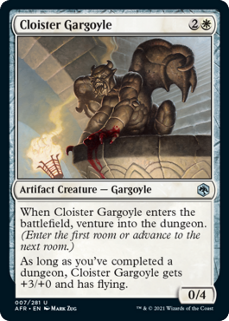 Cloister Gargoyle Card Image