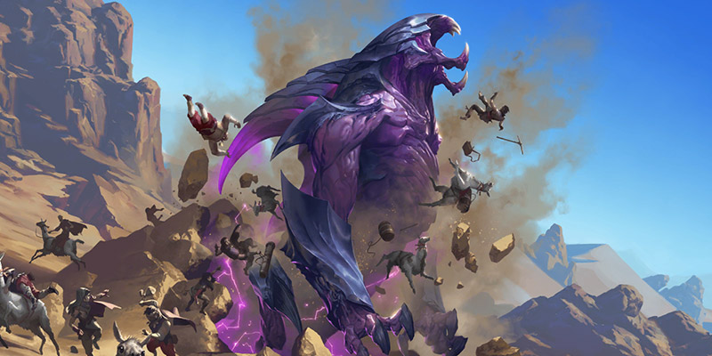 Rek'Sai Champion & 2 New Shurima Cards for Runeterra's Rise of the Underworlds Expansion Revealed!