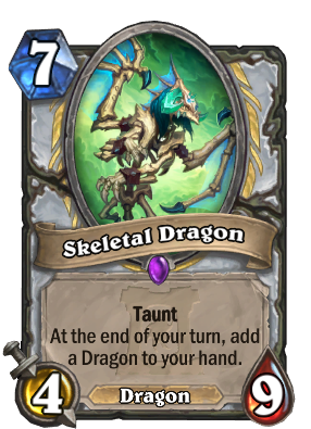 Skeletal Dragon Card Image