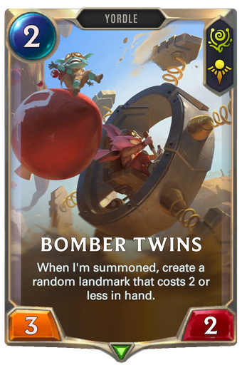 Bomber Twins Card Image