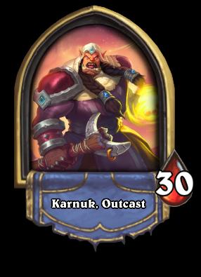 Karnuk, Outcast Card Image