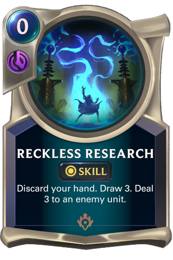 Reckless Research Card Image