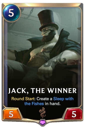 Jack, the Winner Card Image