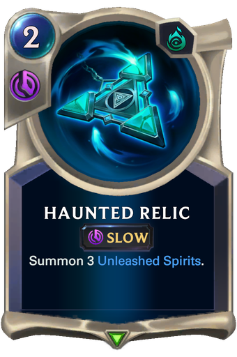 Haunted Relic Card Image