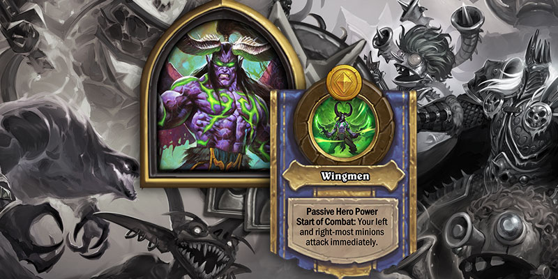 Illidan is Coming to Hearthstone's Battlegrounds Game Mode on March 26