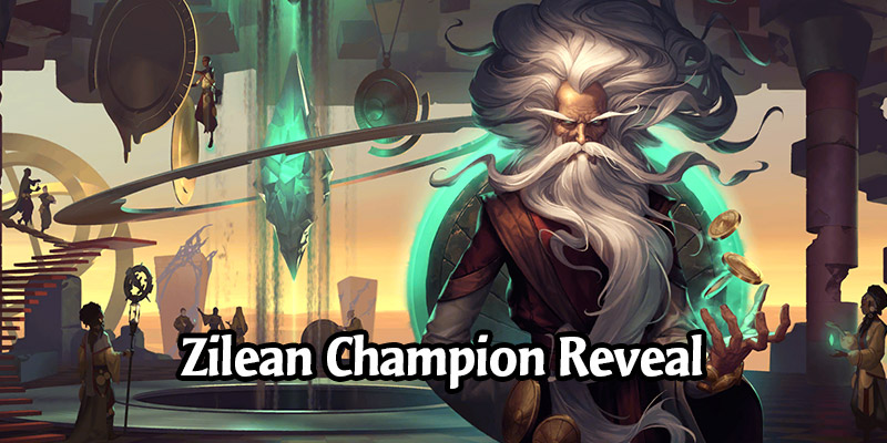 Zilean Champion & 3 New Shurima Cards for Runeterra's Guardians of the Ancient Expansion Revealed!