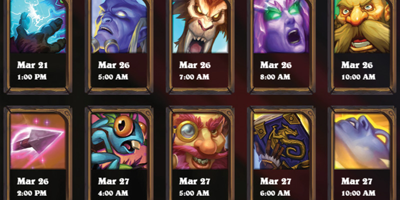 Rise of Shadows Community Card Reveals Start March 21! Full Schedule