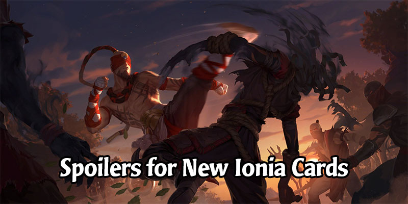 Lee Sin is Legend of Runeterra's Latest Champion - New Ionia Cards Revealed
