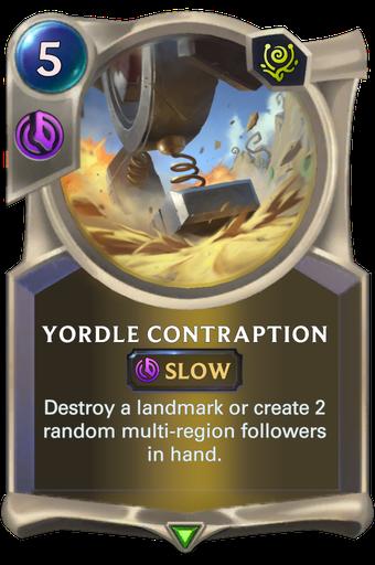 Yordle Contraption Card Image