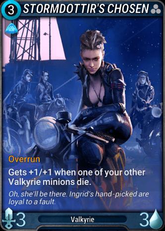 Stormdottir's Chosen Card Image