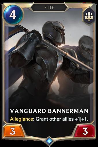 Vanguard Bannerman Card Image
