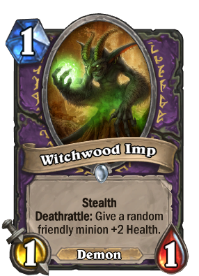 Witchwood Imp Card Image