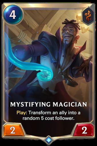 Mystifying Magician Card Image
