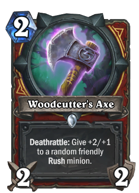 Woodcutter's Axe Card Image