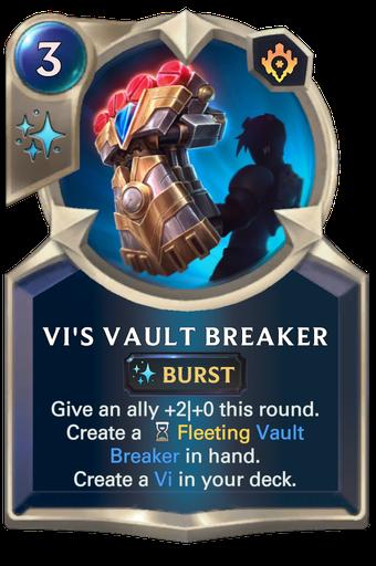 Vi's Vault Breaker Card Image