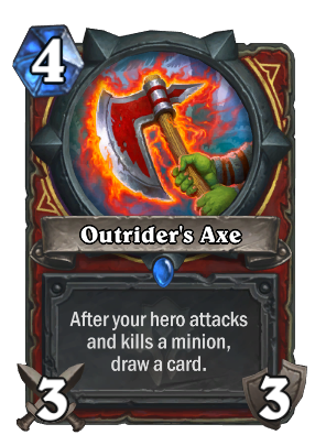 Outrider's Axe Card Image