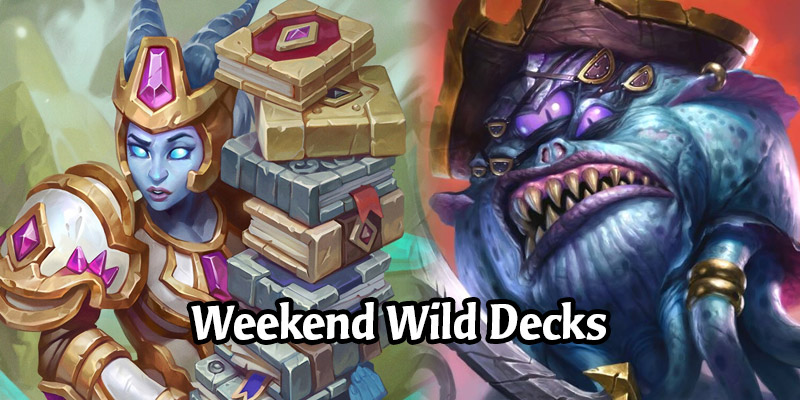 A Wild Hearthstone Weekend Featuring Pirate Paladin, Control Mage, Libram Anyfin Paladin, and More!