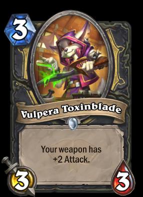 Vulpera Toxinblade Card Image