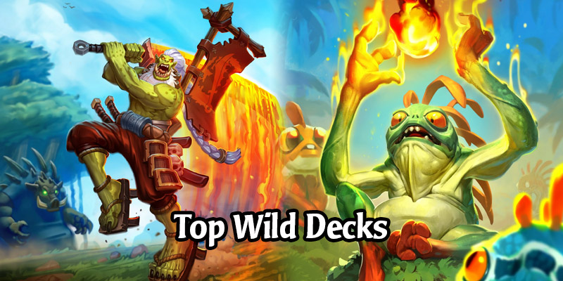 7 Strongest Forged in the Barrens Wild Decks to Climb on Ladder