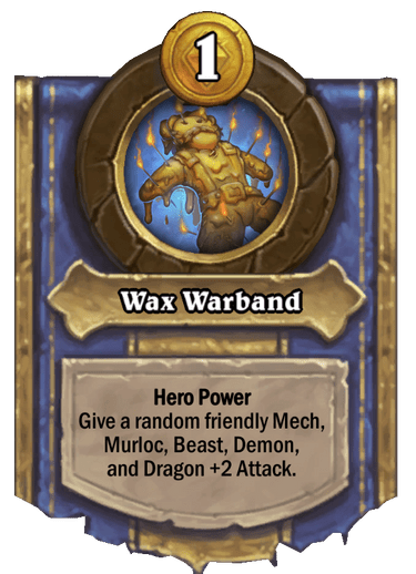 Wax Warband Card Image
